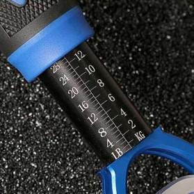 Tang Pancing Portable Fish Lip Gripper Alumunium - Blue - 4