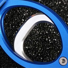 Tang Pancing Portable Fish Lip Gripper Alumunium - Blue - 5