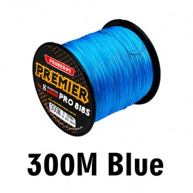 Senar Tali Pancing 8 Weaves Braided Line 0.60mm 300 Meter - Blue