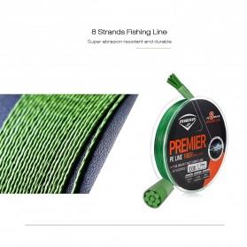 Senar Tali Pancing 8 Strands Weave PE 0.23mm 300 Meter - Line 2 - Gray - 6