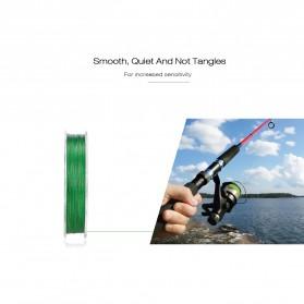 Senar Tali Pancing 8 Strands Weave PE 0.23mm 300 Meter - Line 2 - Gray - 7
