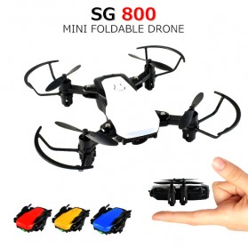 Mini Drone 4 Axis WiFi - SG800 - White