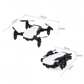 Mini Drone 4 Axis WiFi - SG800 - White - 4