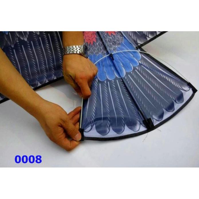 Layang-Layang Hias 3D Model Elang - HY0066 - Black