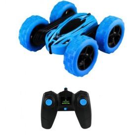 JJRC Remote Control BRC Stunt Buggy Car 360 Degree Flip  2.4G 4CH- HY828 - Blue - 2