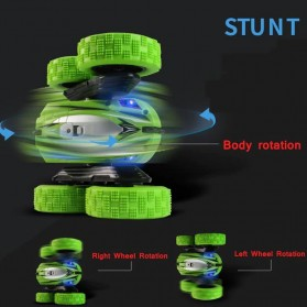JJRC Remote Control BRC Stunt Buggy Car 360 Degree Flip  2.4G 4CH- HY828 - Blue - 4