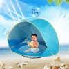 Mainan Bayi - Tenda Mini Outdoor Pantai Kolam Bermain Bayi UV Protection - 205404 - Blue