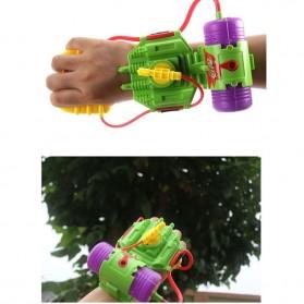 Mainan Pistol Air Pergelangan Tangan Wrist Water Gun 4M - Green - 2