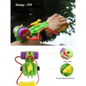 Mainan Pistol Air Pergelangan Tangan Wrist Water Gun 4M - Green - 4