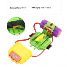 Mainan Pistol Air Pergelangan Tangan Wrist Water Gun 4M - Green - 5