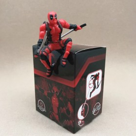Action Figure Deadpool Marvel Series - Model 4 - Red