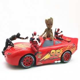 Action Figure Deadpool Marvel Series - Model 4 - Red - 3