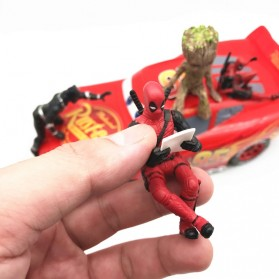 Action Figure Deadpool Marvel Series - Model 4 - Red - 4