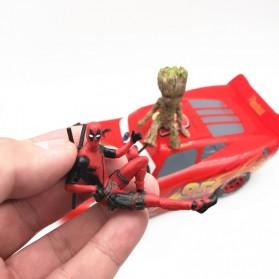 Action Figure Deadpool Marvel Series - Model 4 - Red - 5