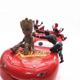Action Figure Deadpool Marvel Series - Model 4 - Red - 6