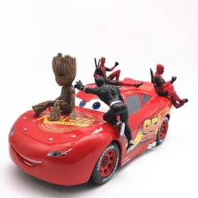 Action Figure Deadpool Marvel Series - Model 4 - Red - 7