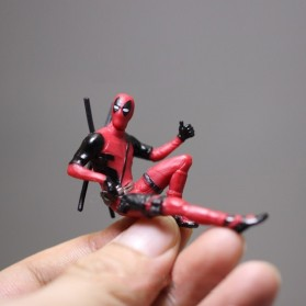 Action Figure Deadpool Marvel Series - Model 2 - Red