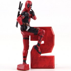 Action Figure Deadpool 2 Marvel Series - Model 2 - Red