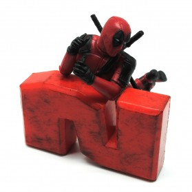 Action Figure Deadpool 2 Marvel Series - Model 3 - Red