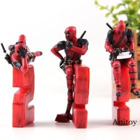 Action Figure Deadpool 2 Marvel Series - Model 1 - Red - 3