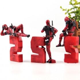 Action Figure Deadpool 2 Marvel Series - Model 1 - Red - 5