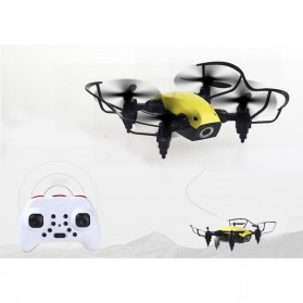 Quadcopter Drone Mini Pocket Foldable with WiFi FPV Camera - S9 - White - 3