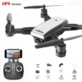 Elves Quadcopter Drone Dual GPS WiFi 720P Camera Remote - LH-X28GWF - White - 1