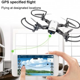 Elves Quadcopter Drone Dual GPS WiFi 720P Camera Remote - LH-X28GWF - White - 2