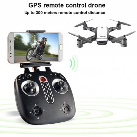 Elves Quadcopter Drone Dual GPS WiFi 720P Camera Remote - LH-X28GWF - White - 6