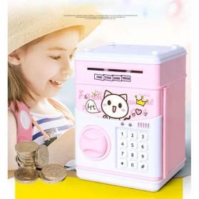 Celengan Elektronik Piggy Bank ATM with Password Chargerable - 821 - Pink