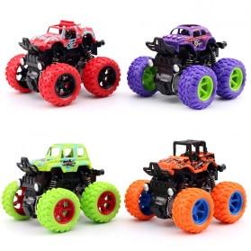 Monster Zap Mainan Mobil Jip Off Road 4 Drive Inertial Bigfoot - D400-1 - Multi-Color