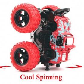 Monster Zap Mainan Mobil Jip Off Road 4 Drive Inertial Bigfoot - D400-1 - Multi-Color - 3