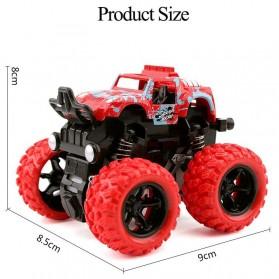 Monster Zap Mainan Mobil Jip Off Road 4 Drive Inertial Bigfoot - D400-1 - Multi-Color - 4