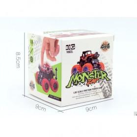 Monster Zap Mainan Mobil Jip Off Road 4 Drive Inertial Bigfoot - D400-1 - Multi-Color - 5