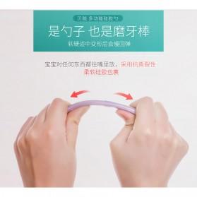 Sendok Bayi Soft Silicone BPA Free 2 PCS - BB1129 - Tosca - 5