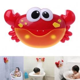 Bubble Crap Pembuat Gelembung Sabun Balon Otomatis dengan Musik - A0317 - Red - 1