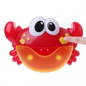 Bubble Crap Pembuat Gelembung Sabun Balon Otomatis dengan Musik - A0317 - Red - 6
