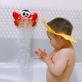 Bubble Crab Pembuat Gelembung Sabun Balon Otomatis dengan Musik - A0317 - Red - 10
