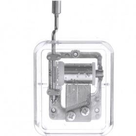Kotak Musik Klasik Transparan - 899023 - Transparent - 2