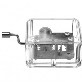 Kotak Musik Klasik Transparan - 899023 - Transparent - 3