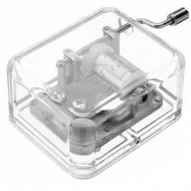 Kotak Musik Klasik Transparan - 899023 - Transparent - 6