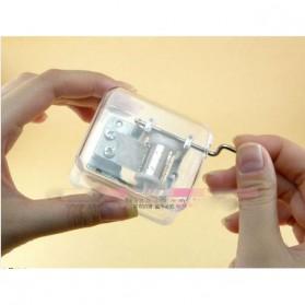 Kotak Musik Klasik Transparan - 899023 - Transparent - 10