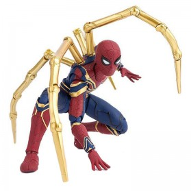TAMASHI Spiderman Avengers Infinity War Action Figure - Red/Blue