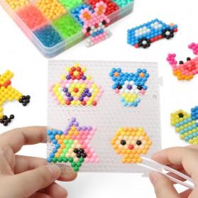 Yuanlebao Mainan Manik-Manik DIY Magic Mold Beads Puzzle 6000PCS - B24 - Multi-Color