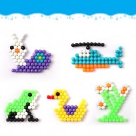 Yuanlebao Mainan Manik-Manik DIY Magic Mold Beads Puzzle 6000PCS - B24 - Multi-Color - 7