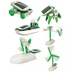 Educational 6 in 1 Solar Robot Kit