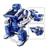Others - Educational 3 in 1 DIY Solar Robot Scorpion Tank Kit Toy - Blue/Gray