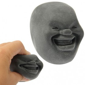 Squishy Anti Stress Ball Bentuk Cao Maru - Gray
