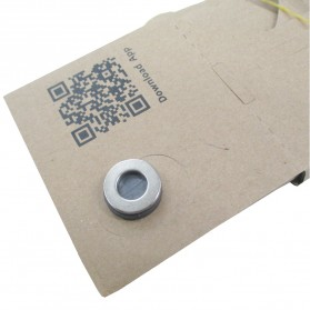 Cardboard Virtual Reality for Smartphone  - Silver Magnet - 4