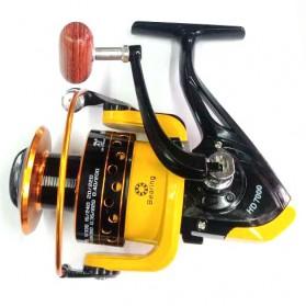 LIEYUWANG Reel Pancing HD7000 12 Ball Bearing - Black/Yellow - 2